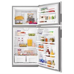 AMANA 18.2 cu. ft. STAINLESS STEEL REFRIGERATOR ART318FFDS Image
