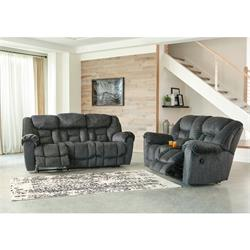 ASHLEY RECLINING SOFA & LOVESEAT (CAPEHORN) 7690288/94 Image