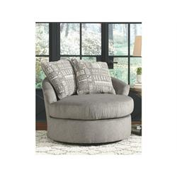 ASHLEY SWIVEL ACCENT CHAIR (SOLETREN) 9510344 Image