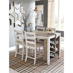 ASHLEY 5PC COUNTER HEIGHT DINETTE (SKEMPTON) D394-124,32 Image