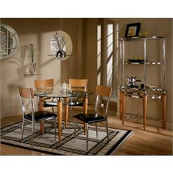 ASHLEY 5PC DINING ROOM SET (LORATTI) D261-01,15 Image