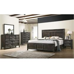 NEW CLASSIC 5PC QUEEN SIZE BEDROOM SET (ANDOVER) B677B-040,050,060,315,335 Image